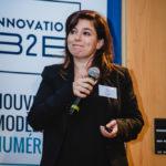 Simone Sfeir (eJust) - Les Enjeux Innovation B2B 2016 Crédit photo : Guillermo Gomez