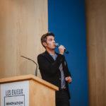 Maxime Baumard (iAdvize) - Les Enjeux Innovation B2B 2016 Crédit photo : Guillermo Gomez