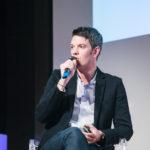 Maxime Baumard (iAdvize) - Les Enjeux Innovation B2B 2017 Crédit photo : Guillermo Gomez