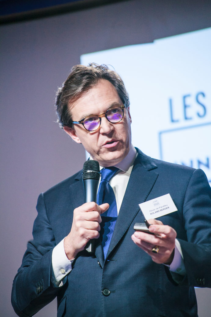 Olivier de Panafieu (Roland Berger) - Les Enjeux Innovation B2B 2017 Crédit photo : Guillermo Gomez