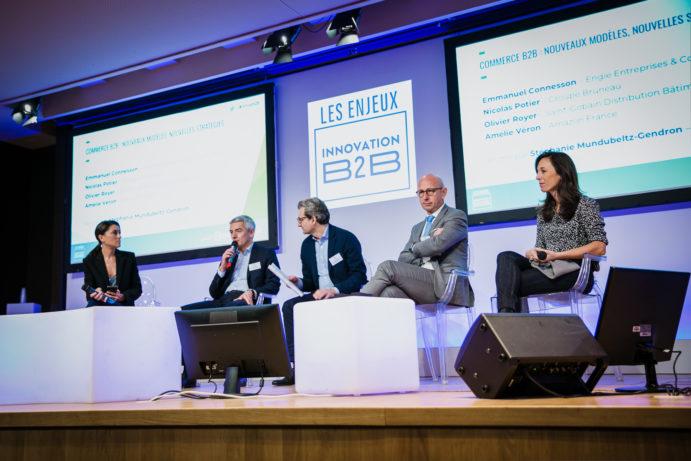 Les Enjeux Innovation B2B 2018 Crédit photo : Guillermo Gomez