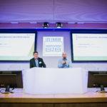 Pascal Pirotte (Metro) et Alfred Hawawini (Mirakl) - Les Enjeux Innovation B2B 2018 Crédit photo : Guillermo Gomez